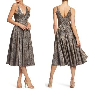 NWT Dress the Population | Delilah Fit & Flare L